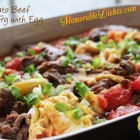 Tomato Beef Stir Fry with Egg <br>(番茄牛肉炒蛋)
