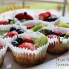 Mini Fruit Cheesecake