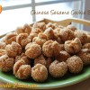 Chinese Sesame Cookie Balls<br>(笑口棗)
