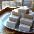 Asian Coconut Pudding (椰汁糕)