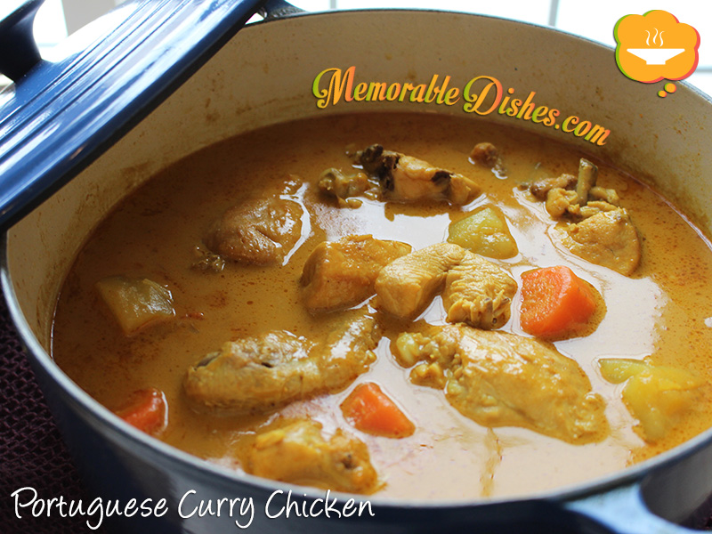 Portuguese Curry Chicken