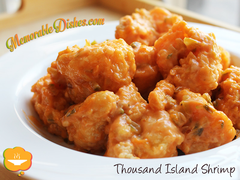 Thousand Island Shrimp
