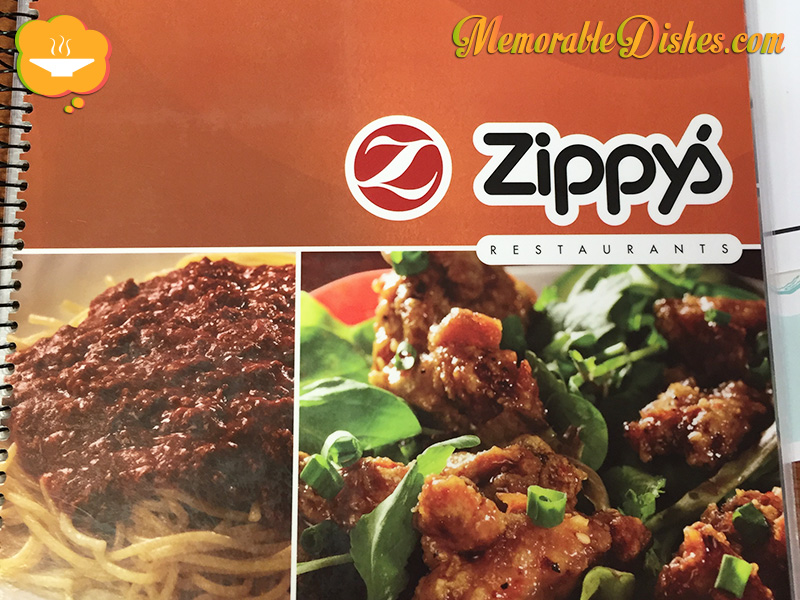 Zippy's Menu