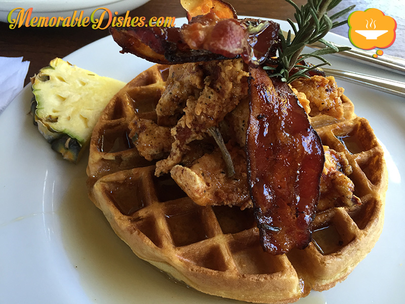 Fried Chicken Waffle