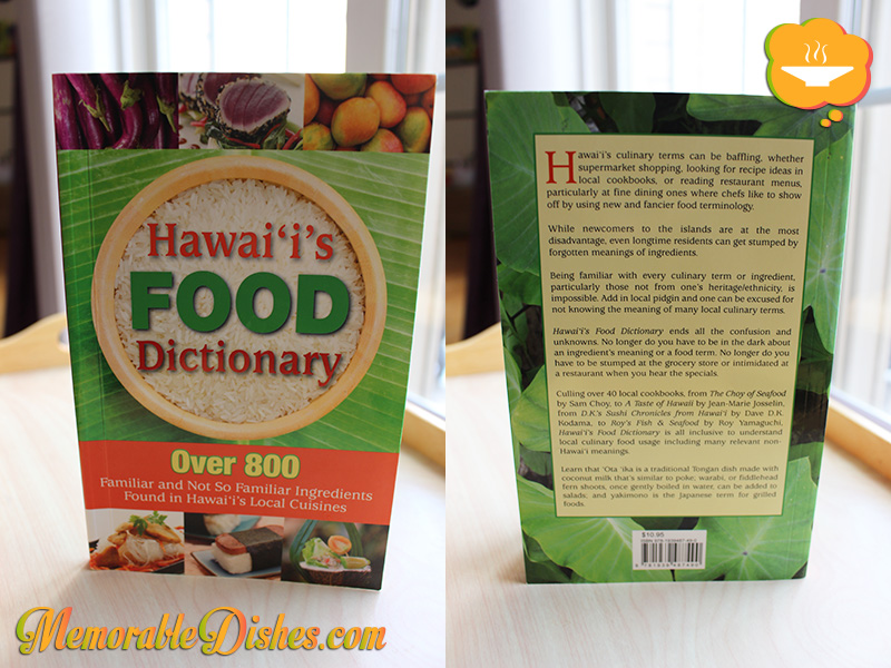 Hawaii's Food Dictionary