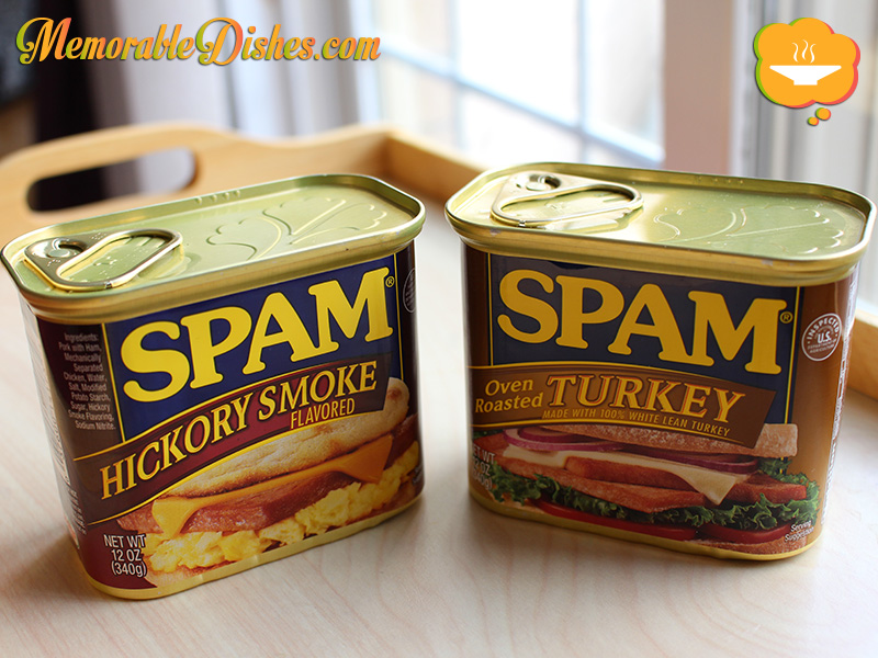 Cans of Spam (front)