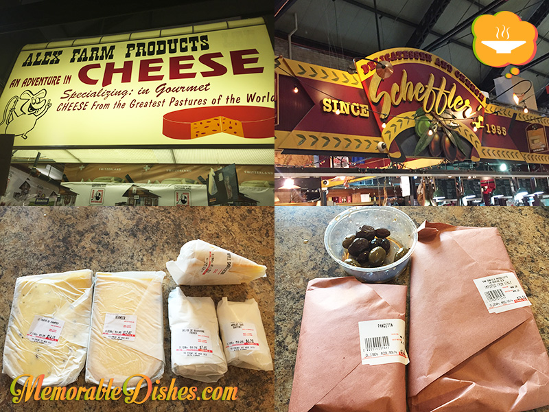 St. Lawrence Market - Alex Farm Products and Scheffler's Delicatessen & Cheese