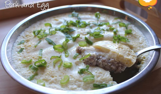Steamed Minced Pork and Egg