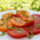 Tomatoes with Fresh Basil
