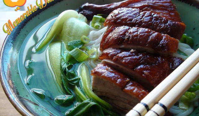 Peking Duck Noodle Soup